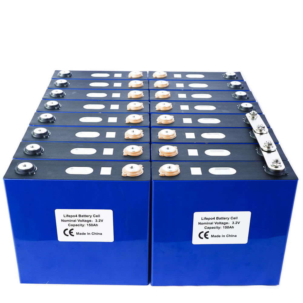 Grade A 3.2V 150Ah Lithium Iron Phosphate LiFePO4 Battery Cell