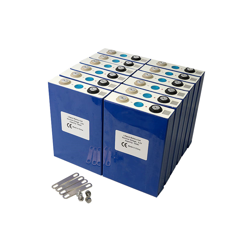 3.2V 105Ah Grade A  Lithium Iron Phosphate LiFePO4 Battery Cell