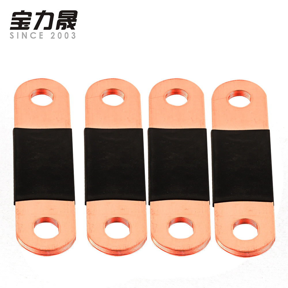 Copper BusBars Interconnect For lithium 3.7V CALB CATL 3.2V lifepo4 battery for 100AH 80ah 120AH 150AH 180AH 200AH 280AH 300AH