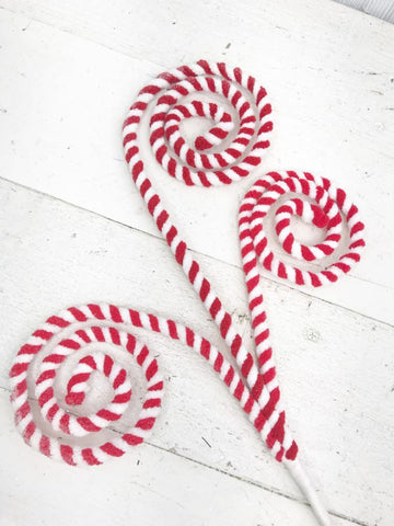 Peppermint Curly Spray 31""