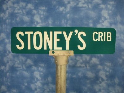 24 Inch Street Sign