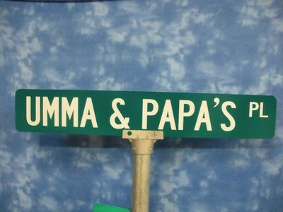 36 Inch Street Sign