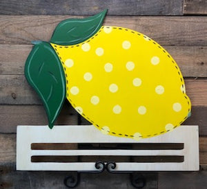 Painted Lemon with Rail