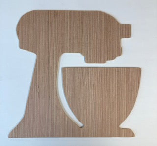 Stand Mixer Wood Blank