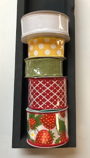 Strawberry Ribbon Stack