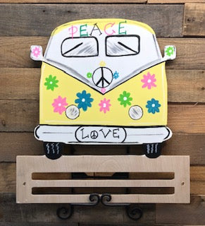 Painted Volkswagen Bus/Van Rail
