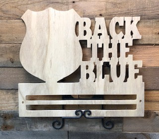 Back the Blue with Rail