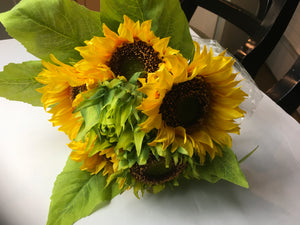 Deluxe Yellow Sunflower Bouquet