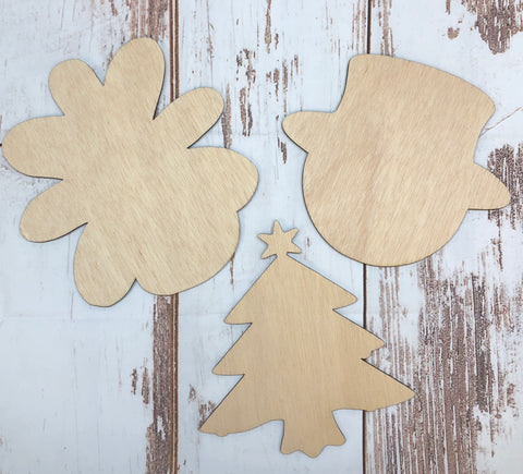Attachments for Wood Wreath Door Hanger