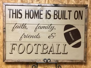 Faith, family, football