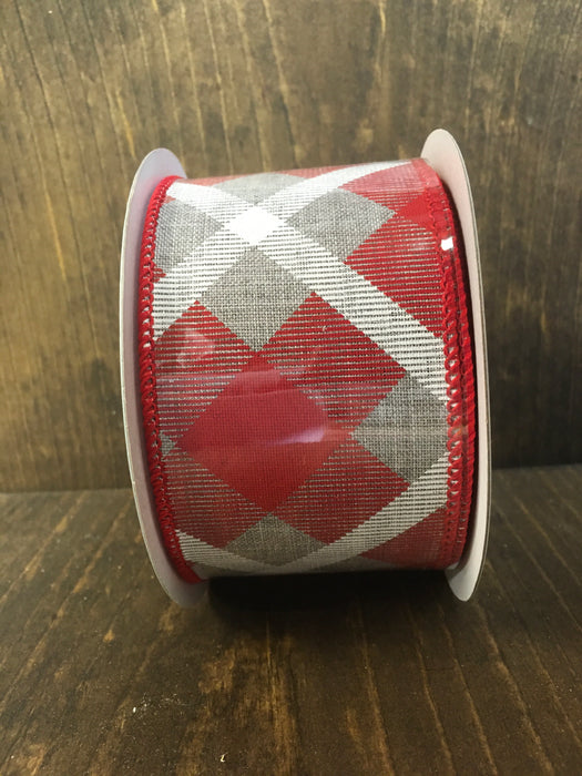 Red/Gray Ribbon