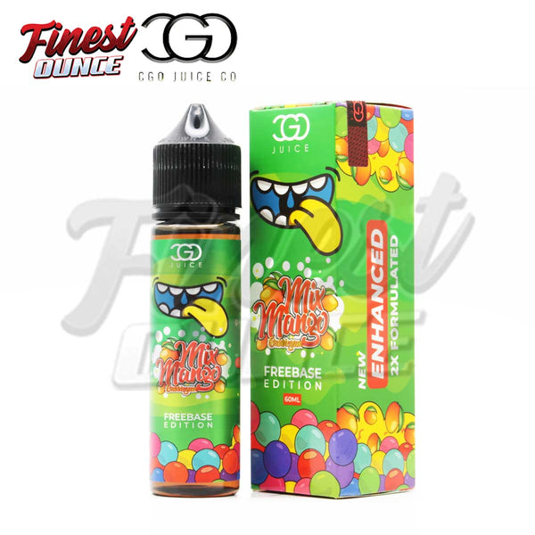 CGO - Mix Mango Bubblegum (FREEBASE) 60mL