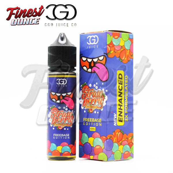 CGO - Strawberry Bubblegum (FREEBASE) 60mL