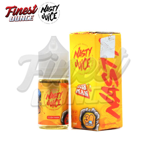Nasty Juice - Cush Man (FREEBASE) 30mL