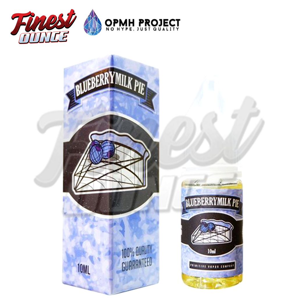 Opmh Project - Blueberry Milkpie (SALT) 10mL
