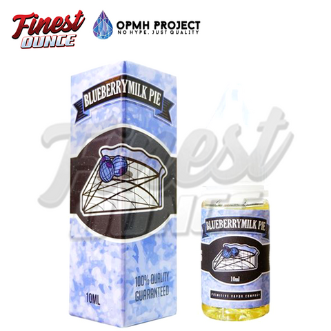 Opmh Project - Blueberry Milkpie (SALT) 10mL - Finest Ounce Vape Store