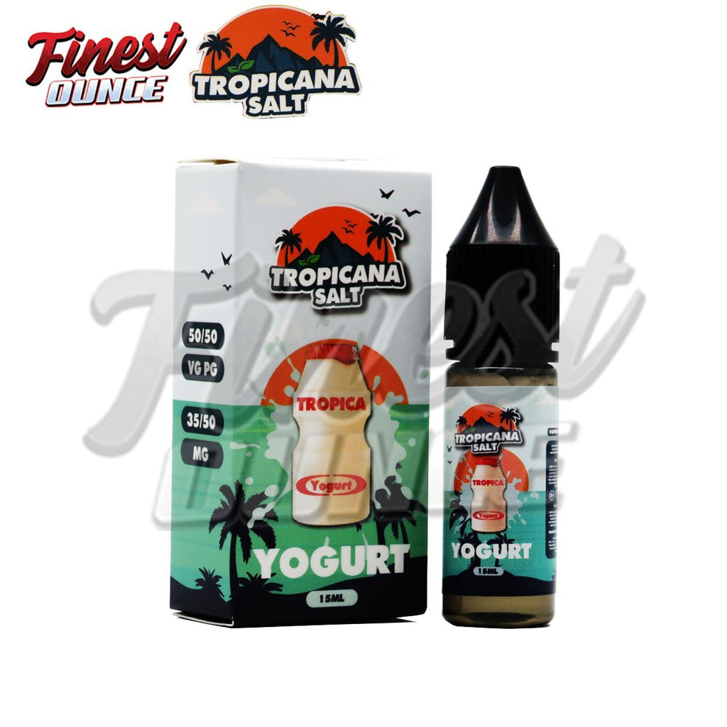 Tropicana Salt - Yogurt Ice (SALT) 15mL - Finest Ounce Vape Store
