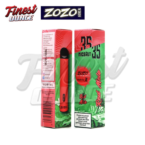 Zozo Disposable Pod - Red Mellow