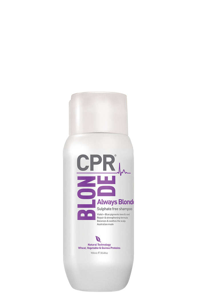 CPR Always Blonde Sulphate free shampoo 300ml