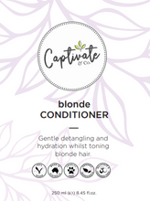 Load image into Gallery viewer, Blonde Conditioner 250ml - Captivate & Co