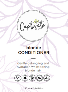 Blonde Conditioner 250ml - Captivate & Co