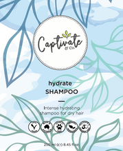 Load image into Gallery viewer, Hydrate Shampoo 250ml - Captivate & Co.
