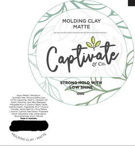 Matte Molding Clay 100ml - Captivate & Co.