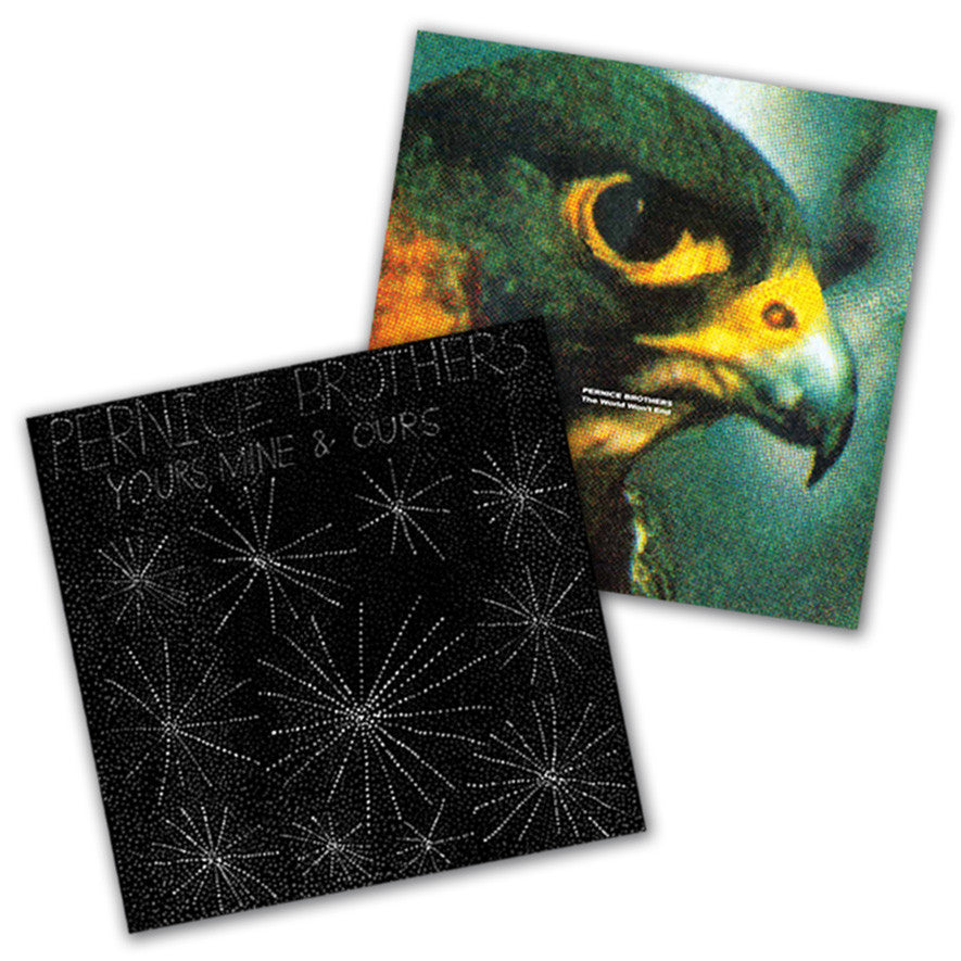 Pernice Brothers - Yours, Mine & Ours/The World Won't End LP bundle