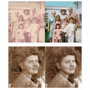 Restore Your Old Photos To Perfection