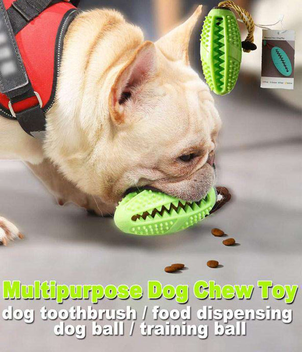 Multifunction Dog Chew Toy Cleaning Teeth Ball