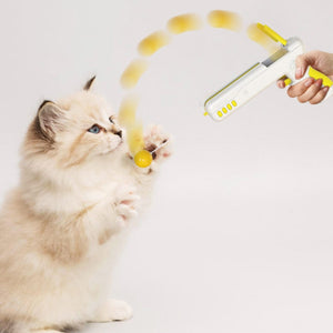 Interactive Funny Play Cat Toy Gun