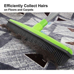 New Rubber Broom for Pet Hair Lint Removal