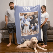 Load image into Gallery viewer, Personalized Photo Blanket