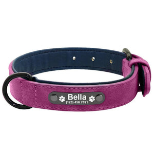 CUSTOM PETS LEATHER COLLAR I01