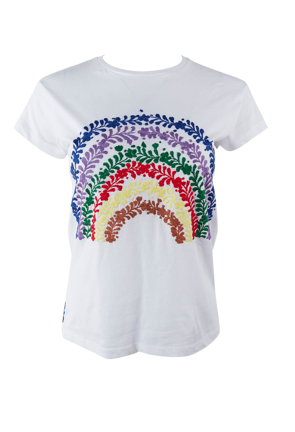 Rainbow T-shirt Dos
