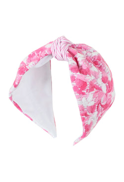 Headband Pastel Rosa Brillante