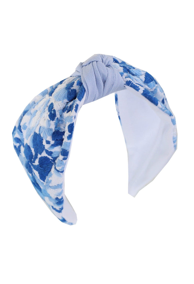 Headband Coco Azul Brillante