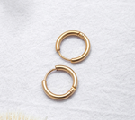 Béisic hoops| Gold - Edona