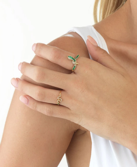 Green Serpent Ring