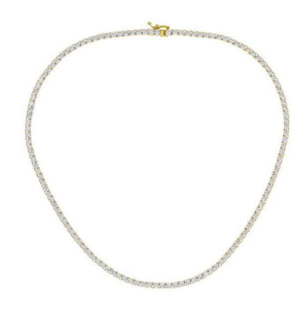 French Riviera Tennis Necklace