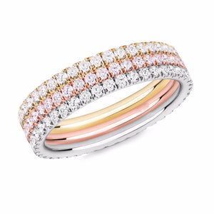 French Riviera Eternity Band Set