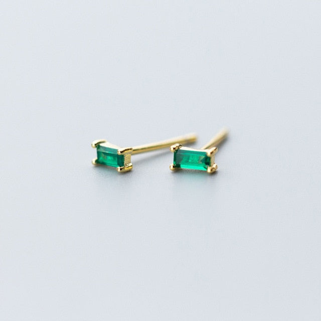 Vert Stud Earrings