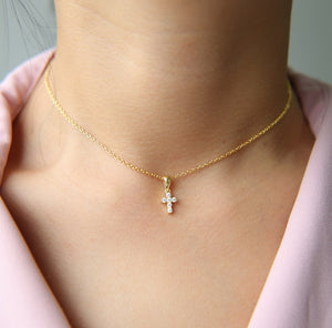 925 Sterling Silver | Mini Sainty Necklace