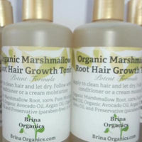 Organics Marshmallow Root Hair Growth Tonic, Brina Organics