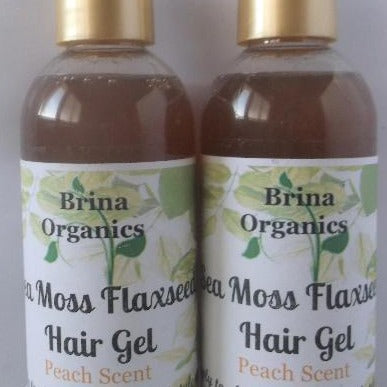 Sea Moss Flaxseed Hair Gel, Brina Organics