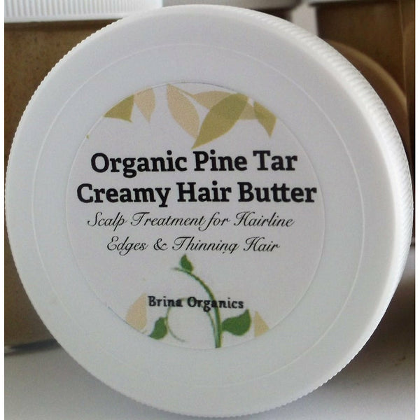 Organic Pine Tar Hair Butter Scalp Treatment 4 oz. or 8 oz.