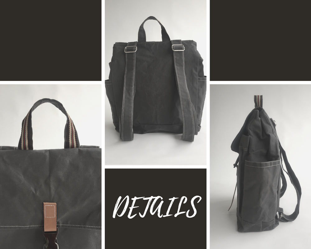 Marken 108 DWR Gray | Backpack