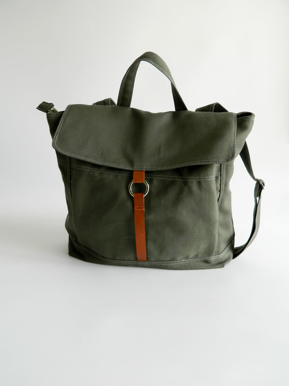 Tanya 102 Olive Green | Backpack
