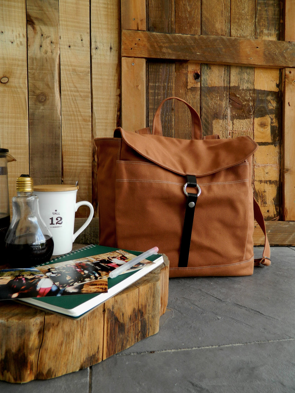 TANYA 102 Backpack/ COGNAC