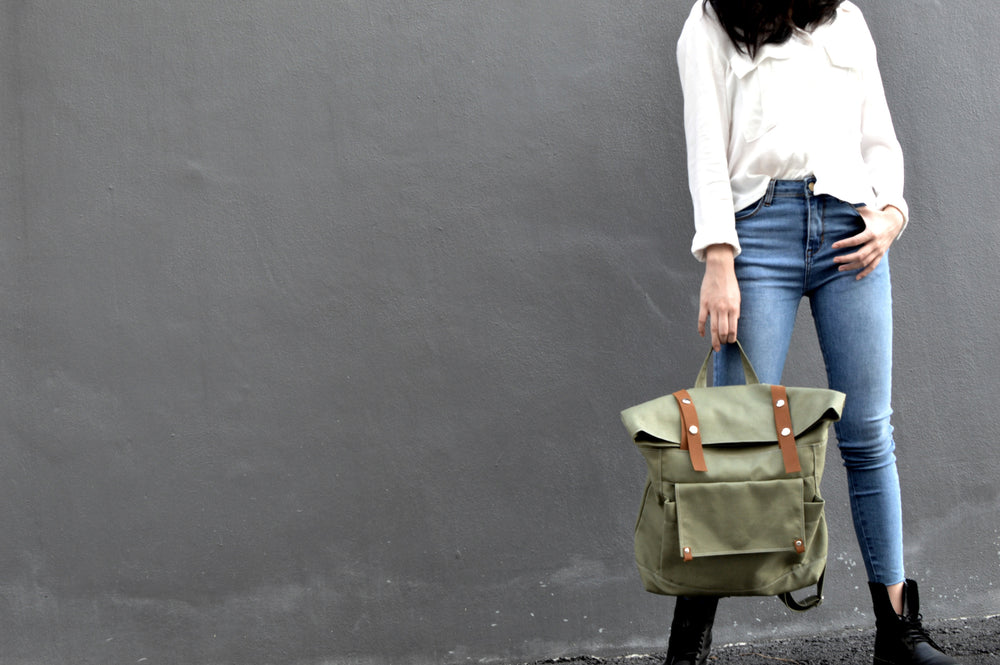 ALLISON 105 Backpack/ OLIVE GREEN